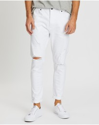 Abrand - A Dropped Turn Up Skinny Jeans