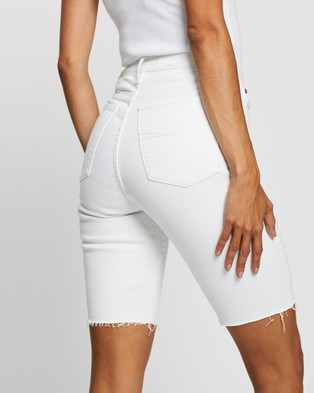 Nobody Denim Frankie Bermuda Shorts - Denim (Shell)