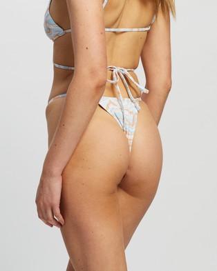 TWIIN Etherea Skimpy String Bottoms - Bikini Bottoms (Multi)