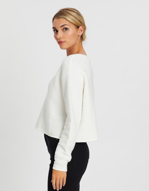 Women Harper Ribbed Oversized Knit