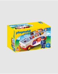 Playmobil - 123 Airport Shuttle Bus - Kids