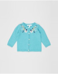 Bebe by Minihaha - Sky Embroidered Cardigan - Babies