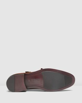 AQ by Aquila Dublin Monk Straps - Dress Shoes (Tan)
