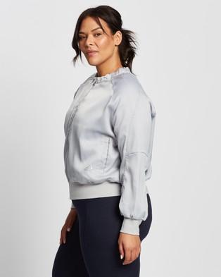 adidas Performance Glam On Bomber Jacket - Coats & Jackets (Grey Two F17)