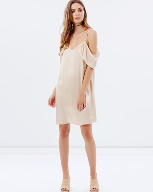 Alexander Wang Ribbed Dress with Cut-Out Detail and Embellishment