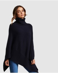 Forever New - Eve Roll Neck Poncho