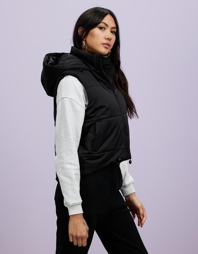 Women Honey Sleeveless Puffer Jacket