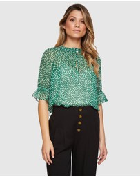 Oxford - Parker Spot Blouse