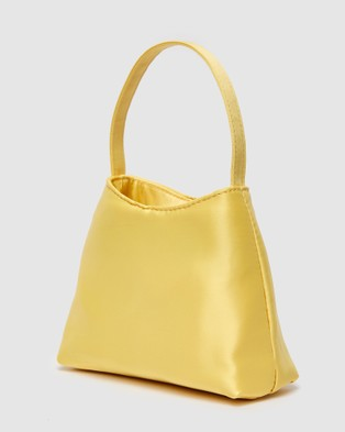 Brie Leon - The Mini Chloe Bag (Satin) - Handbags (Yellow) The Mini Chloe Bag (Satin)