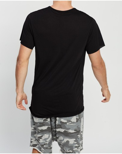 Surrounded By Ghosts The Feldspar Tail T-shirt Black