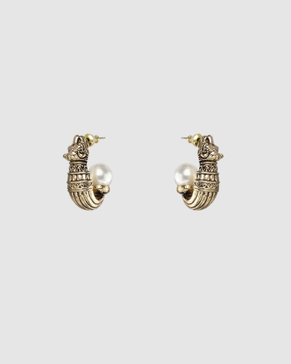 Kitte Tigre Jewellery Gold