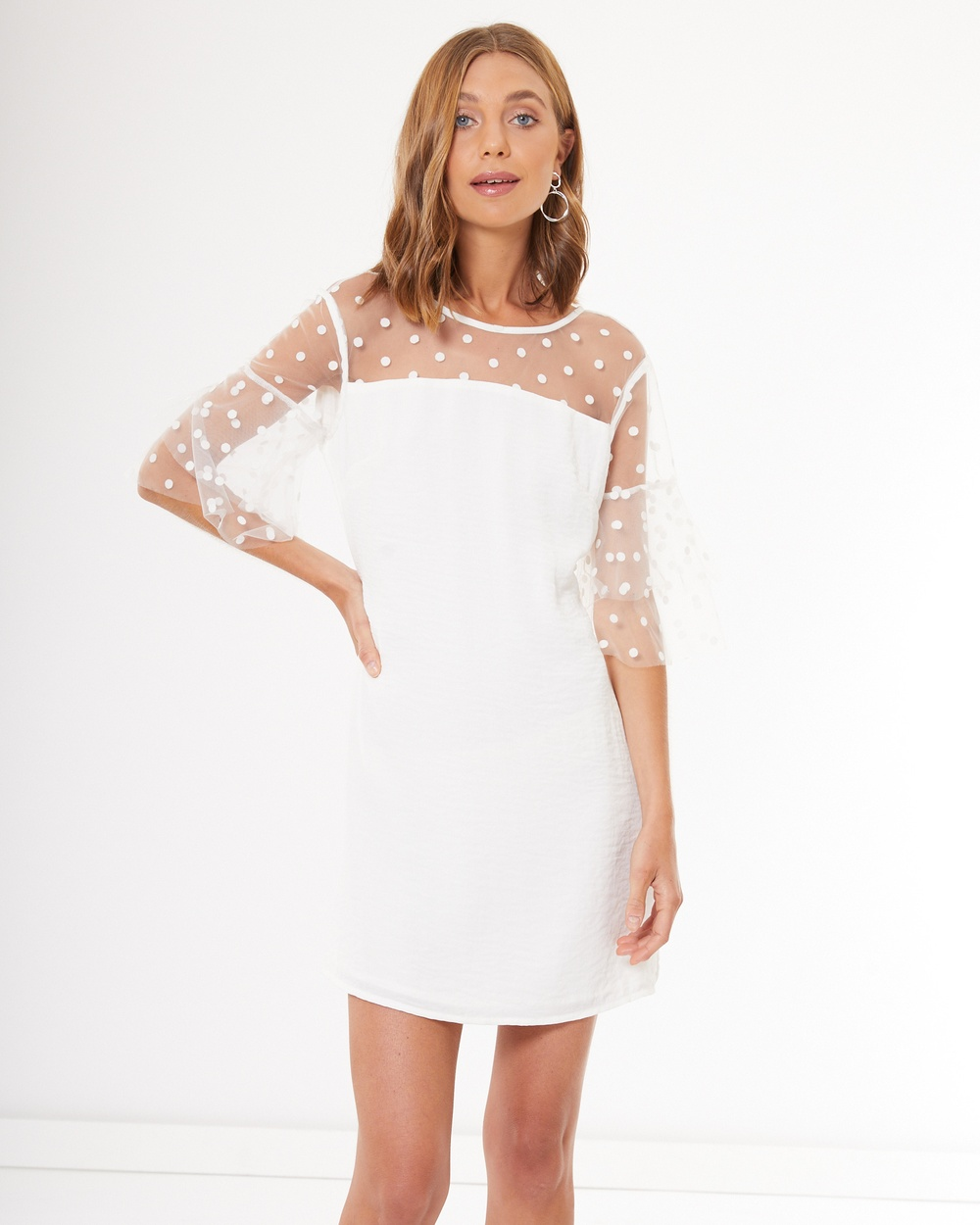 Calli Charis Dress Dresses White Charis Dress