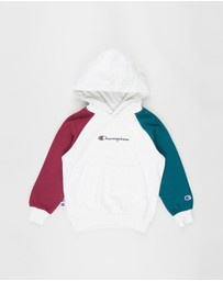 Champion - French Terry Colour-Block Hoodie - Teens