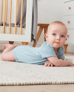 ergoPouch Bodywear   Short Sleeve Bodysuit   Babies - Clothing (Sterling)