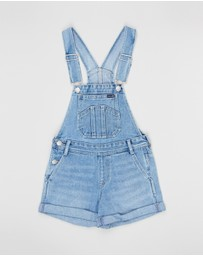 Riders Jnr By Lee - Short Dungarees - Teens