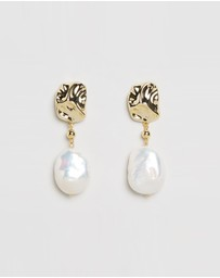 Bianc - Rockpool Pearl Earrings