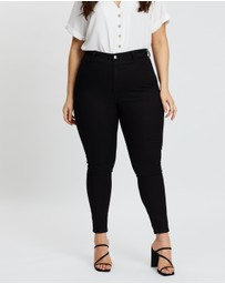 Atmos&Here Curvy - Darci Skin-Tight Jeggings