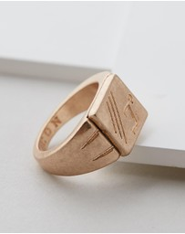 Icon Brand - Square Front Signet Ring
