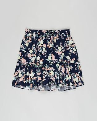 Decjuba Kids Alex Pull On Skirt   Kids Teens - Skirts (Garden Posie)