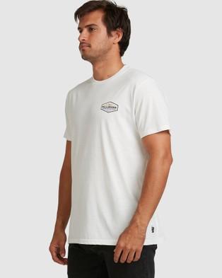 Billabong - Adiv Cove Tee - T-Shirts & Singlets (OFF WHITE) Adiv Cove Tee