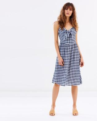 Dorothy Perkins – Gingham Bardot Dress