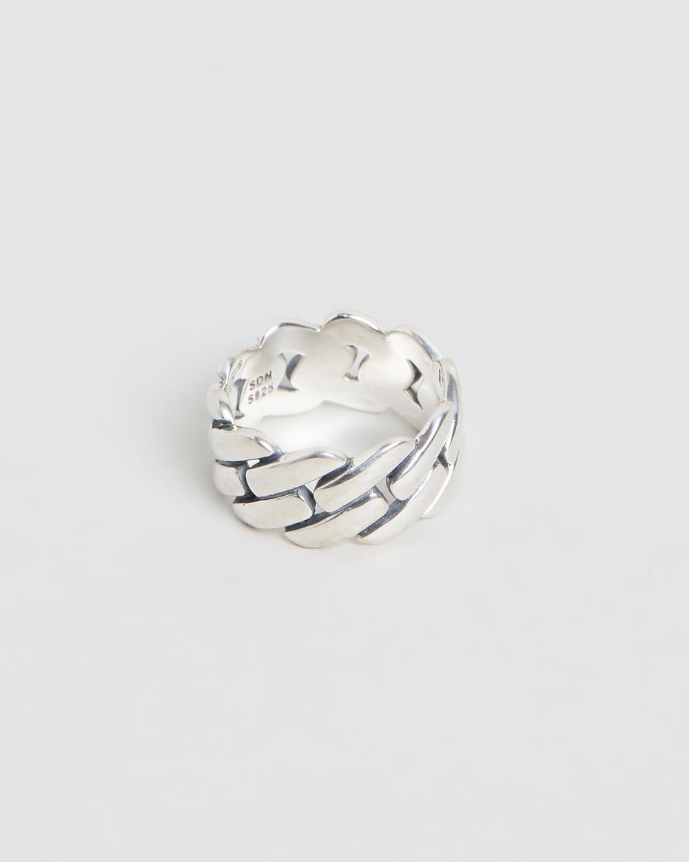 Serge DeNimes Link Ring Jewellery Silver