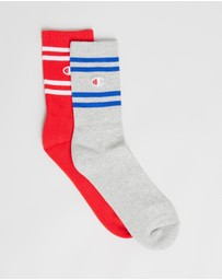 Champion - Branded Crew Socks 2-Pack