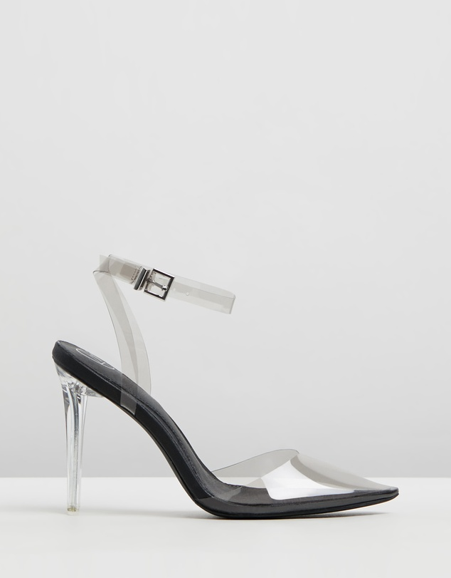 d3b0d63e672 Clear Court Shoe Heels