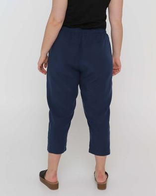 Advocado Plus Relaxed 7 8th Pants - Pants (Smoke)