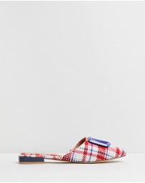 Jaggar The Label - Ornament Check Flats