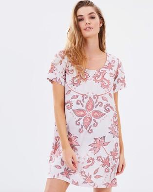 MINKPINK – Mirage Tee Dress – Dresses (Multi)