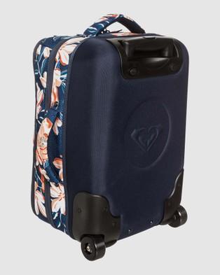 Roxy Get It Girl 35L Small Wheeled Suitcase - Travel and Luggage (MOOD INDIGO HAPPY DA)