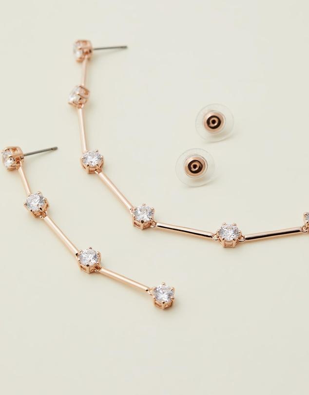 Women Constella Asymmetrical Drop Earrings