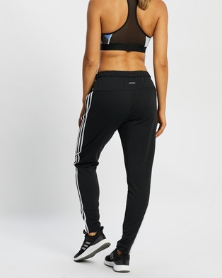 adidas Performance Must Haves 3 Stripes Sweat Pants - Track Pants (Black & White)