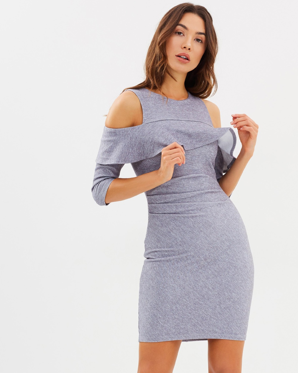 Fresh Soul Twilight Dress Bodycon Dresses Grey Twilight Dress