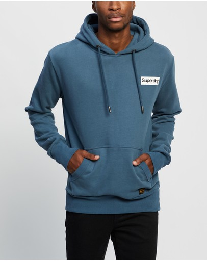 Superdry - Core Logo Canvas Hood