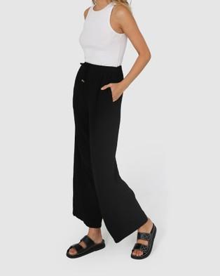 Lost in Lunar  Georgie Pants - Pants (Black)