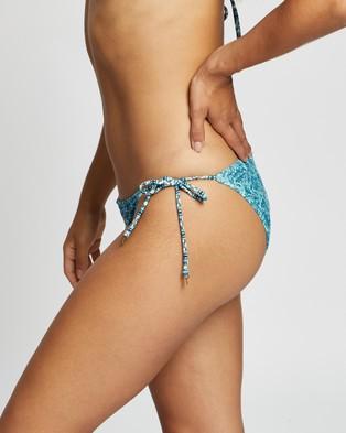Tigerlily Miranda Bikini Pants - Bikini Bottoms (Blue)