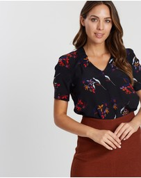 Marcs - Floral Silk Top