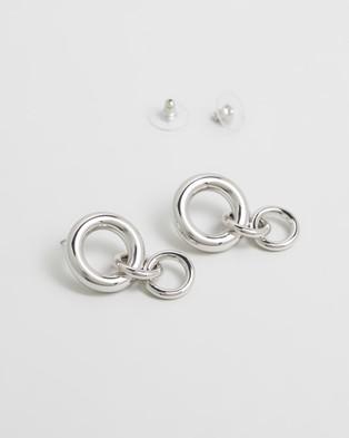 Peter Lang Aja Earrings Jewellery Silver