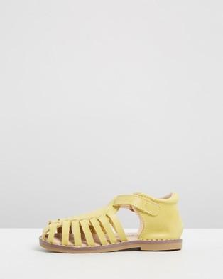 Anchor & Fox Amalfi Sandals   Kids - Casual Shoes (Lemon)