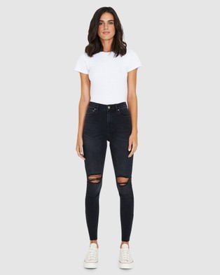 Ksubi Hi N Wasted Jeans - Jeans (BLACK)