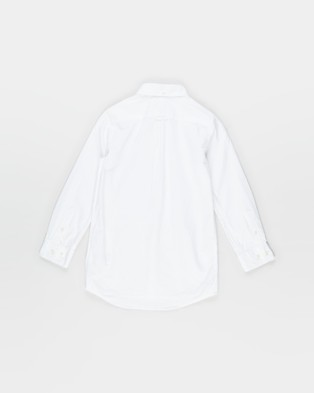 Gant Archive Oxford Shirt   Teens - Shirts & Polos (White)