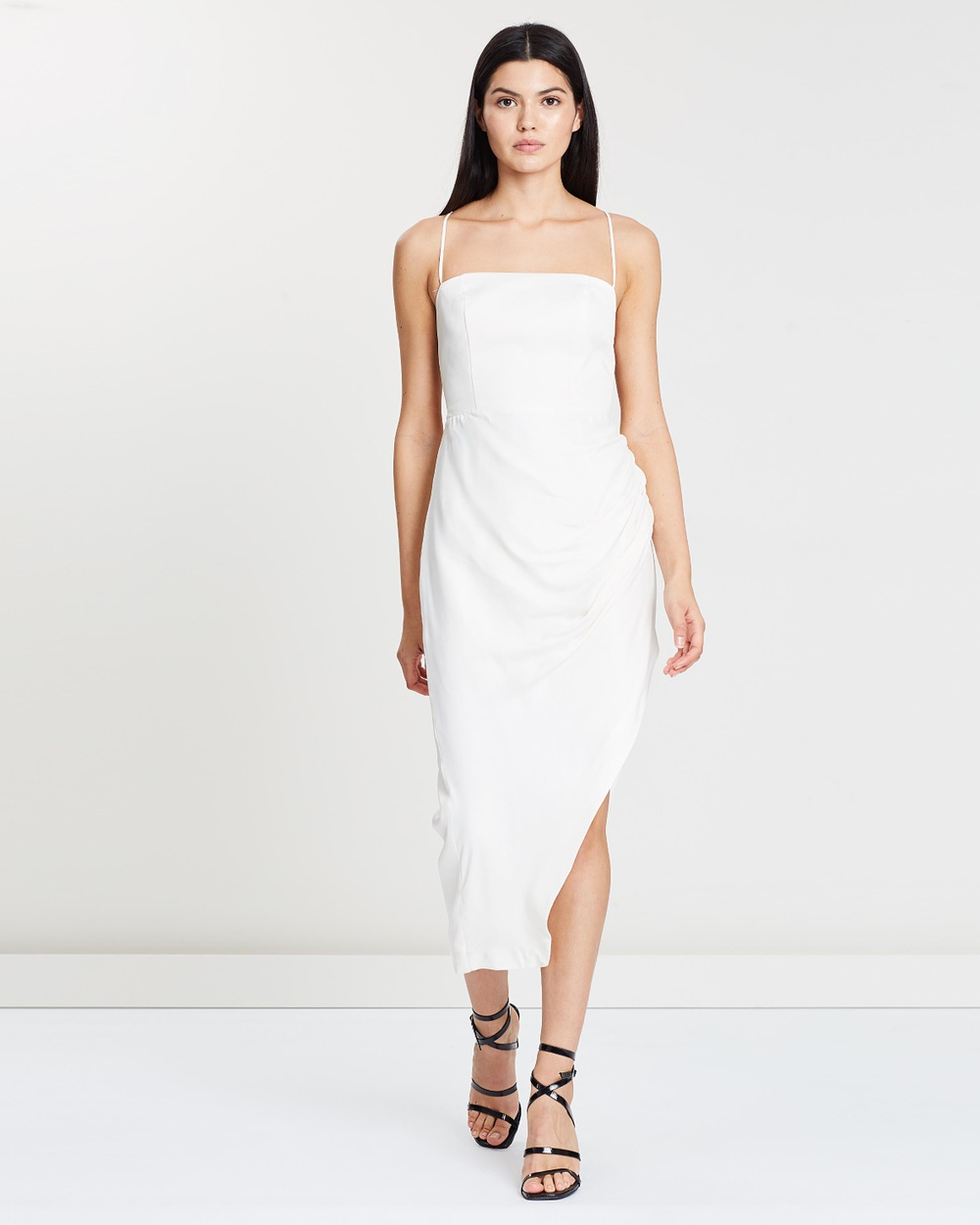 Manning Cartell Ivory Status Update Backless Dress