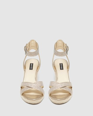 Nine West Jenine - Sandals (LIGHT GOLD)