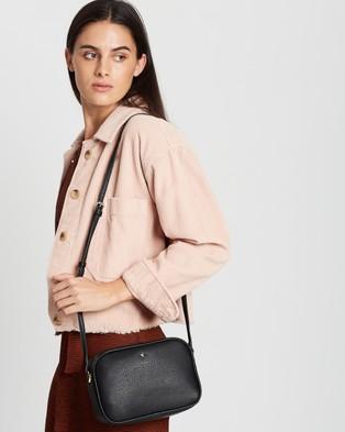 PETA AND JAIN - Gracie Cross Body Bag - Handbags (Black Pebble) Gracie Cross Body Bag
