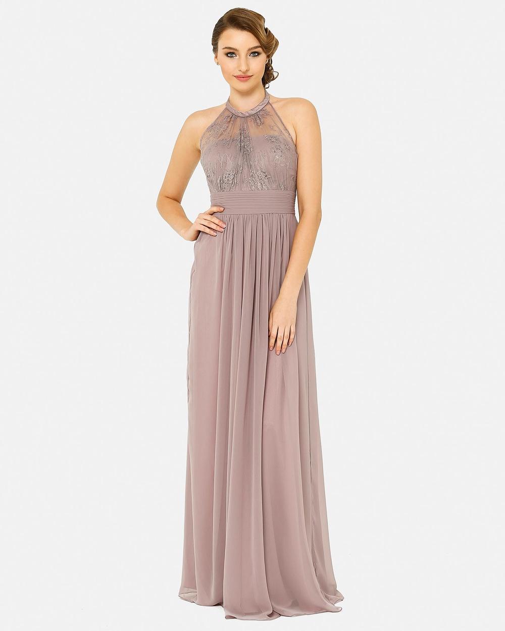Tania Olsen Designs Harlow Dress Bridesmaid Dresses Purple Harlow Dress