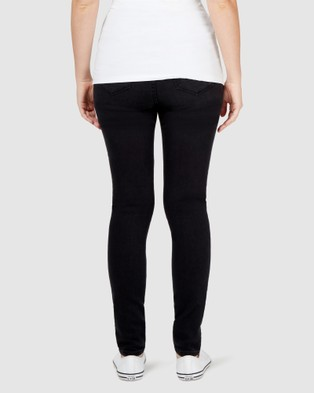 Jeanswest Heather Maternity Classic Skinny - Jeans (Black)