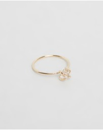 Natalie Marie Jewellery - Herkimer Solitaire Ring
