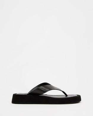 Tony Bianco - Ives - Sandals (Black Como) Ives